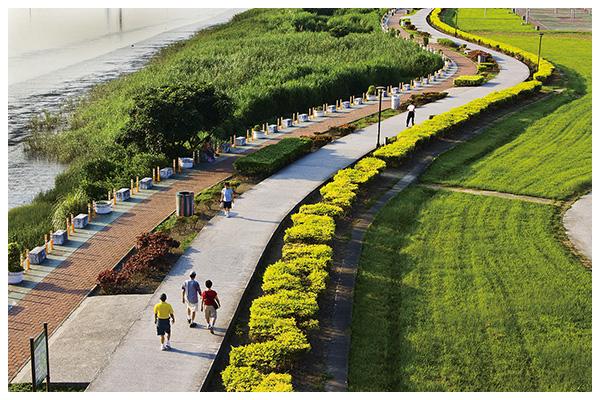 大台北都會公園,享受16座大安森林公園面積
