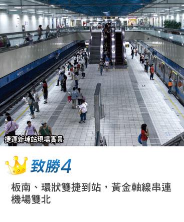 捷運新埔站現場實景